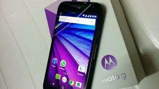 Moto G 3rd gen 2015 unboxing and review