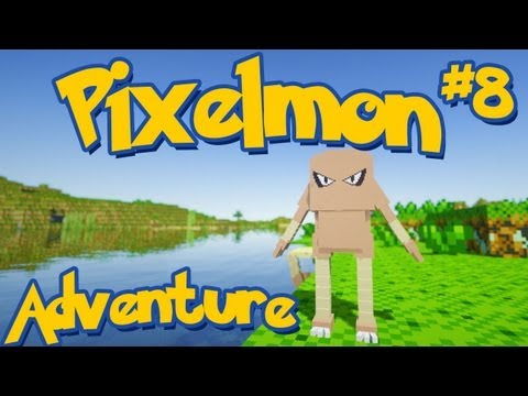 Pixelmon Minecraft Pokemon Mod! Adventure Server Series! Episode 8 - WE GOT A PYGMY HITMONLEE