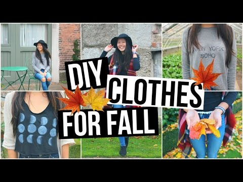 DIY Fall Clothes! Tumblr And Brandy Melville Inspired ♡