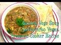 Garden Vegetable Soup Vegan Pressure Cooker Video recipe cheekyricho episode 1,026
