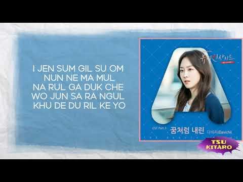 Davichi - Falling In Love (The Beauty Inside OST Part 3) LYRICS (EASY LYRICS)