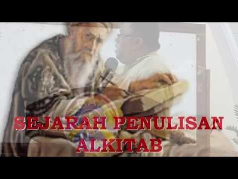 Pdt. Esra Alfred Soru : SEJARAH PENULISAN ALKITAB