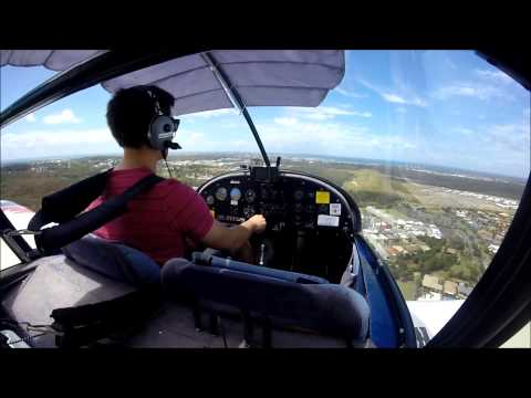 Circuits at Caloundra (YCDR) in an Evektor Sportstar