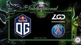 OG VS PSG LGD (BO5) - The International 2018 GRAND FINAL Day - dota 2 live