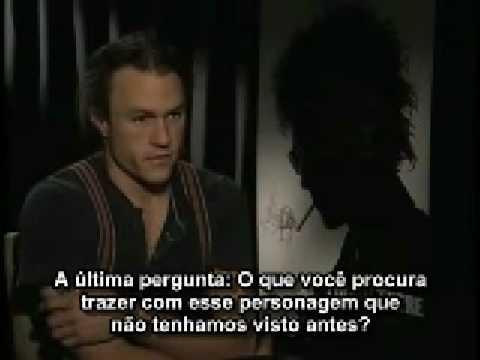 Heath Ledger fala sobre o Coringa