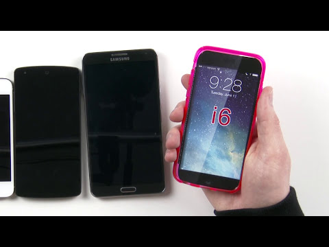 iPhone 6 Case Leak Hands-on (vs iPhone 5s, Nexus 5, Note 3)