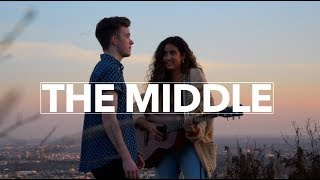 Download Lagu THE MIDDLE - ZEDD, MAREN MORRIS & GREY | cover by Suriel Hess and Noa Vlessing Gratis STAFABAND