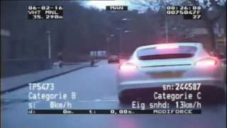 Drunk Panamera Driver Followed and Arrested by Cops