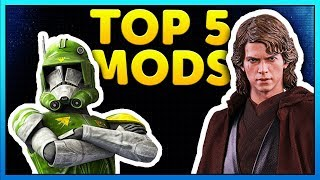 Top 5 Mods of the Week - Star Wars Battlefront 2 Mod Showcase #23