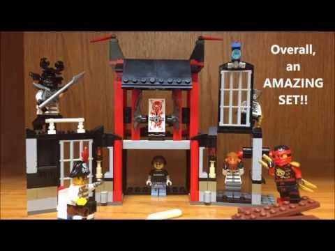 LEGO Ninjago Season 7 Kryptarium Prison Breakout Set Review! Ninjago Summer 2016