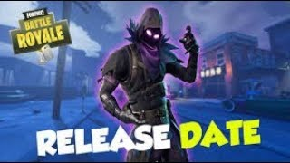 Fortnite New skin Raven Relase Date / Free vbucks Giveaway / Vending machine hunting