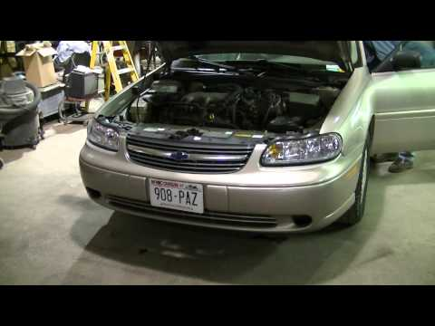 2000 Chevy Malibu Headlight and Taillight Removal & Install (Part 1 of 2)