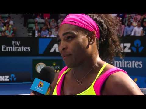 Match point: Serena Williams v Madison Keys (QF) - Australian Open 2015