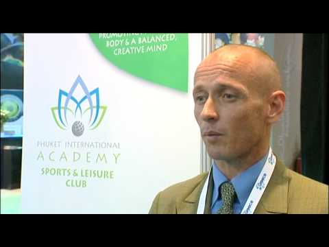 Sean Panton, General Manager, Phuket International Academy @ WSDE 2010