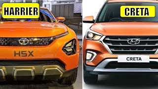 TATA HARRIER VS HYUNDAI CRETA - FULL COMPARISON