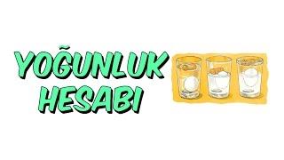 YOGUNLUK HESABI | 8.SINIF