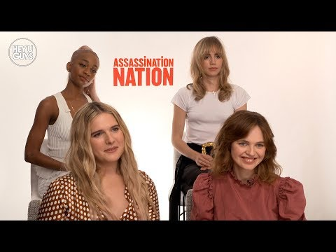 Hari Nef, Odessa Young, Suki Waterhouse & Abra On The Male Gaze Subverted In Assassination Nation