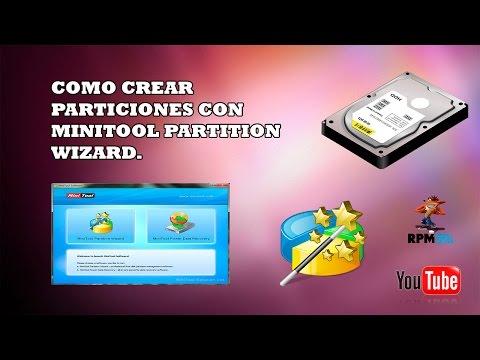 Como Crear Particiones Con MiniTool Partition Wizard