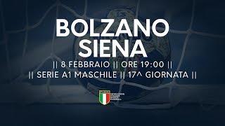 Serie A1M [17^]: Bolzano - Siena 30-21
