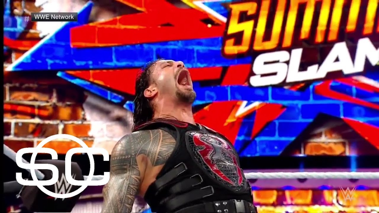 Roman Reigns recalls WWE SummerSlam 2017 | SportsCenter | ESPN