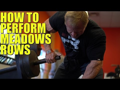 How to Perform Meadows Rows