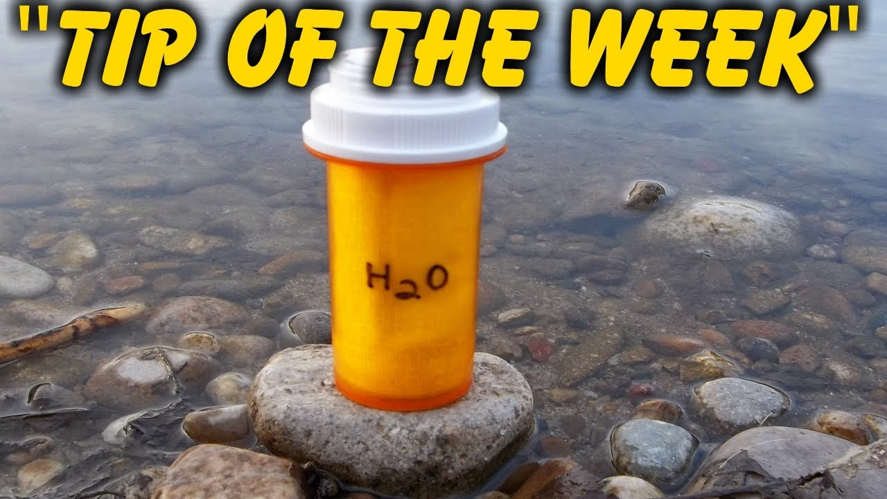 Homemade Emergency Water Filter Kit Quot Tip Of The Week