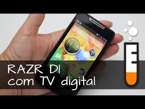 RAZR D1 XT918 com TV Motorola Smartphone - Resenha Brasil