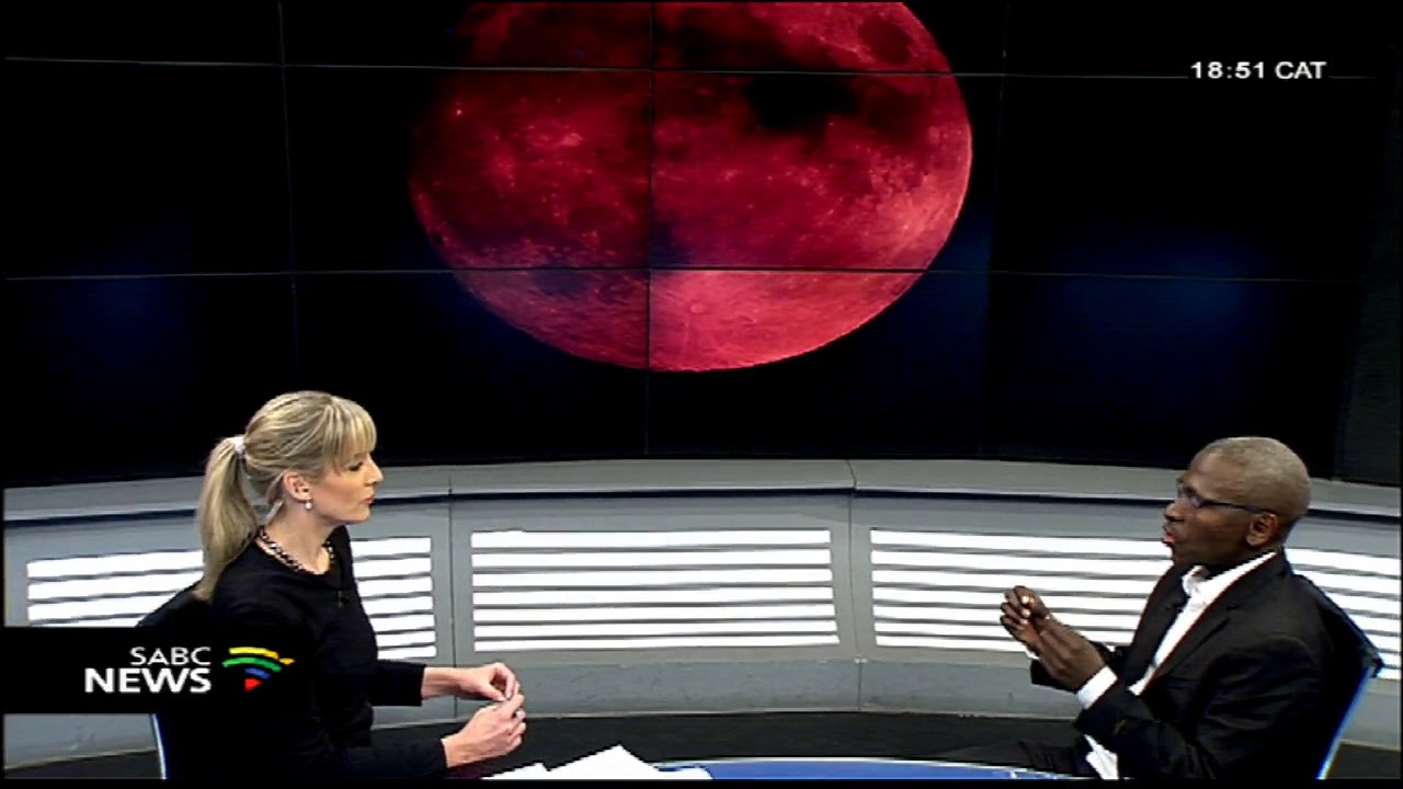 Talking Lunar Eclipse with prof. Lerothodi Leeuw