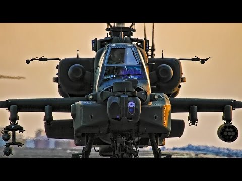 Hellenic Army AH-64HA Apache | Airshow Aerobatic Display | AFW2016 Helicopter Stunts!