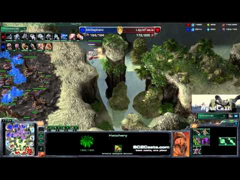 TaeJa (T) vs Stephano (Z) - GosuGamers Replay of the Week