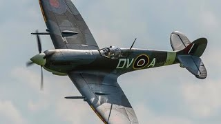 FlightLineRC 1600mm Spitfire Behind the Scenes Touch and Goes