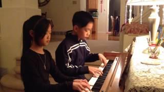 Pachelbel's Canon in D Major Piano Duet