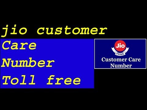 Jio Customer Care Number || Jio Customer Number Toll Free ||