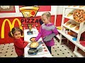 Chef Emily Making PIZZA Playing With Pretend Food Playground For Kids mp3