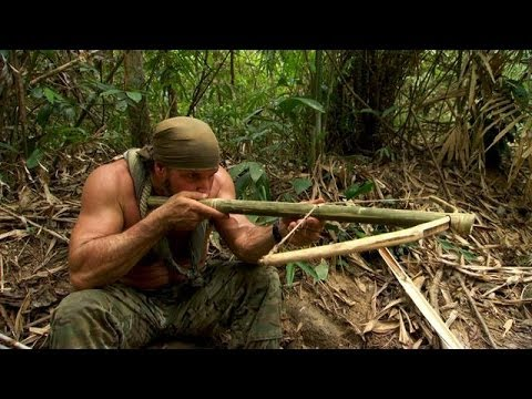 DIY Survival: Make a Crossbow from Scratch   Dual Survival