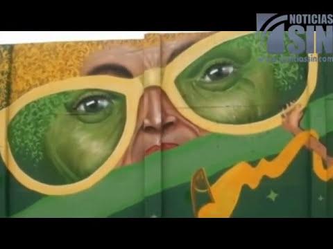 Grafitis a favor y en contra del mundial adornan metro y barrios de Brasil