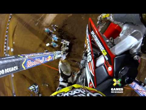 GoPro: Bryce Hudson Moto X Step Up Gold Run - Summer X Games 2013 Brazil