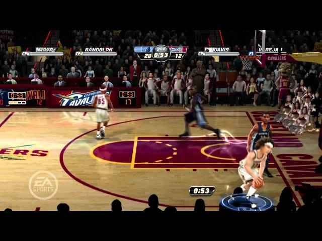 NBA Jam On Fire Edition First Look
