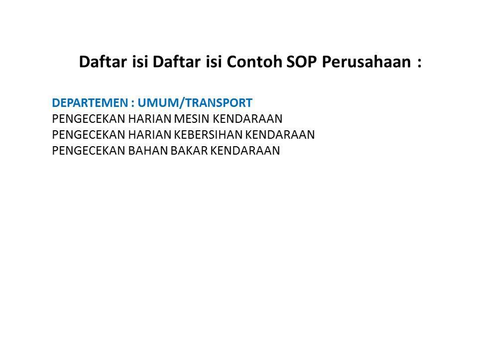 Contoh Sop Perusahaan Retail Contoh Sop Perusahaan.docx