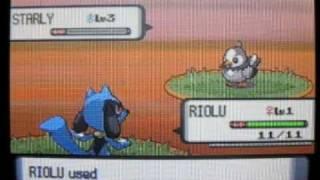 Pokemon D/P- How to make Riolu Evolve into Lucario