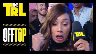 Eva Gutowski & DC Young Fly on 'Mean Girls' Day | Off Top | TRL Weekdays at 3:30pm