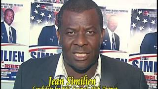 Vote to Elect Jean H. Similien For City Council.