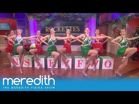The Rockettes Perform A Number From The Radio City Christmas Spectacular! | The Meredith Vieira Show
