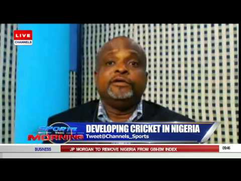 Sports This Morning: Onyema Talks About Developing Cricket In Nigeria   10/09/15