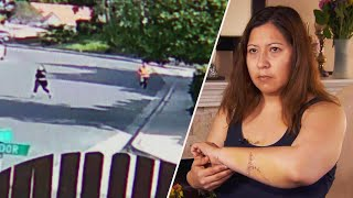Mom Says Attacker With Knife Looked 'Evil'