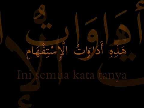 Belajar Bahasa Arab Sambil Menyanyi : Adawatul Istifham