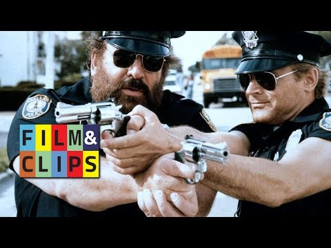 Miami Supercops. Bud Spencer & Terence Hill. Full Movie by Film&Clips