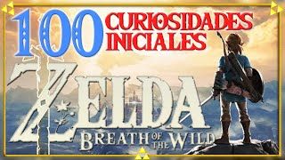 ¿SABÍAS QUE...? 100 CURIOSIDADES de ZELDA BREATH OF THE WILD