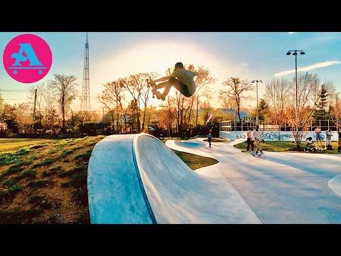 Reptiles, RAW street skating & FUN Skateparks | ALL I NEED SKATEBOARDS
