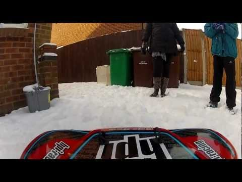 hpi baja 5sc in the snow